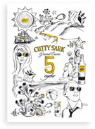CUTTY SARK invitation
