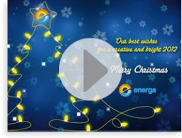 Animated Xmas card for ENERGA