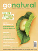 GO NATURAL magazine cover