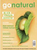 GO NATURAL magazine cover