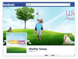 Facebook Page for HEALTHY SCOOP
