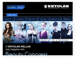 Newsletter for KRYOLAN