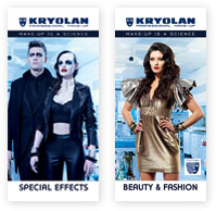 KRYOLAN roll-up banners