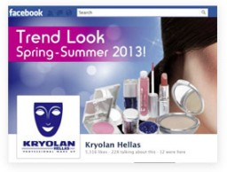 Facebook Page for KRYOLAN